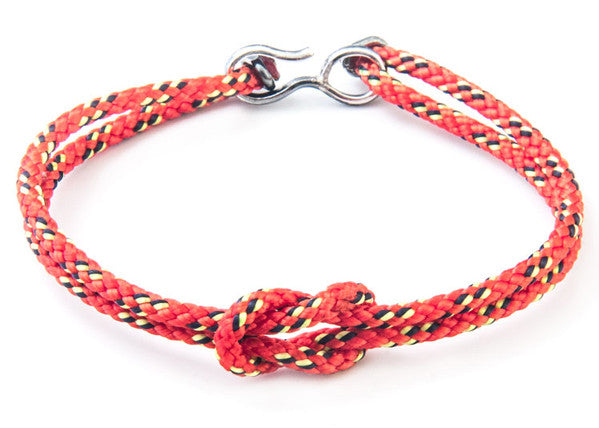 Anchor & Crew Rope & Silver Foyle Bracelet - NMRN - 3