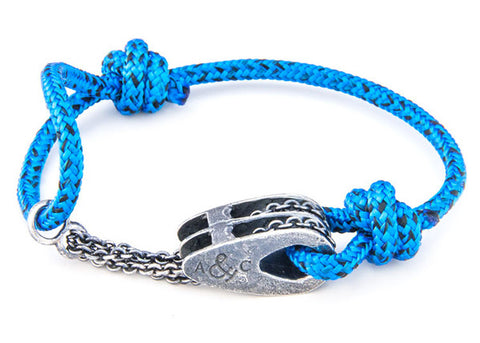 Anchor & Crew Rope & Silver Rothesay Bracelet - NMRN - 1