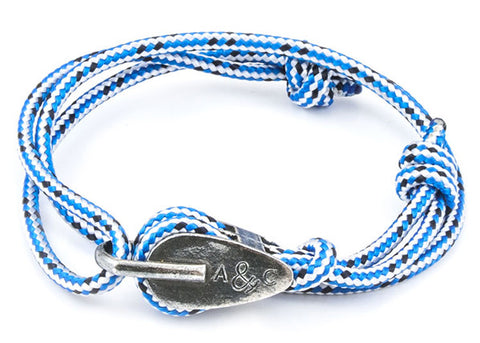Anchor & Crew Rope & Silver Tyne Bracelet - NMRN - 1