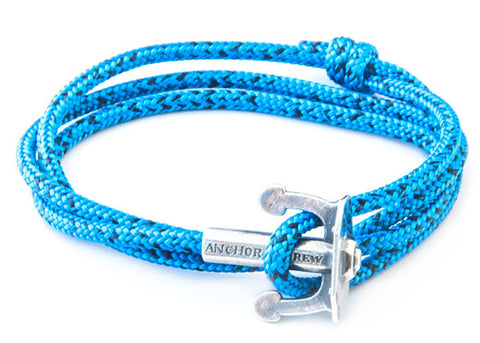 Anchor & Crew Union Rope & Silver Bracelet - NMRN - 1
