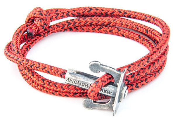 Anchor & Crew Union Rope & Silver Bracelet - NMRN - 2