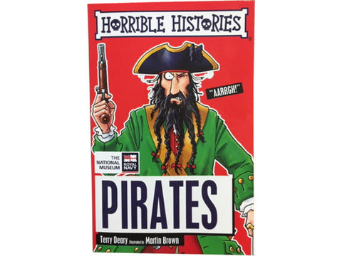 Horrible Histories Pirates Book