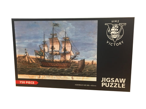 HMS Victory Painting Puzzle