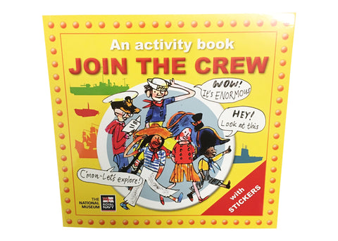 'Join the Crew' Activity & Sticker Book