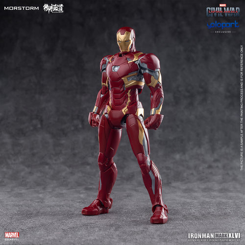 1/9 Scale Iron Man MK46 PLAMO (Normal)