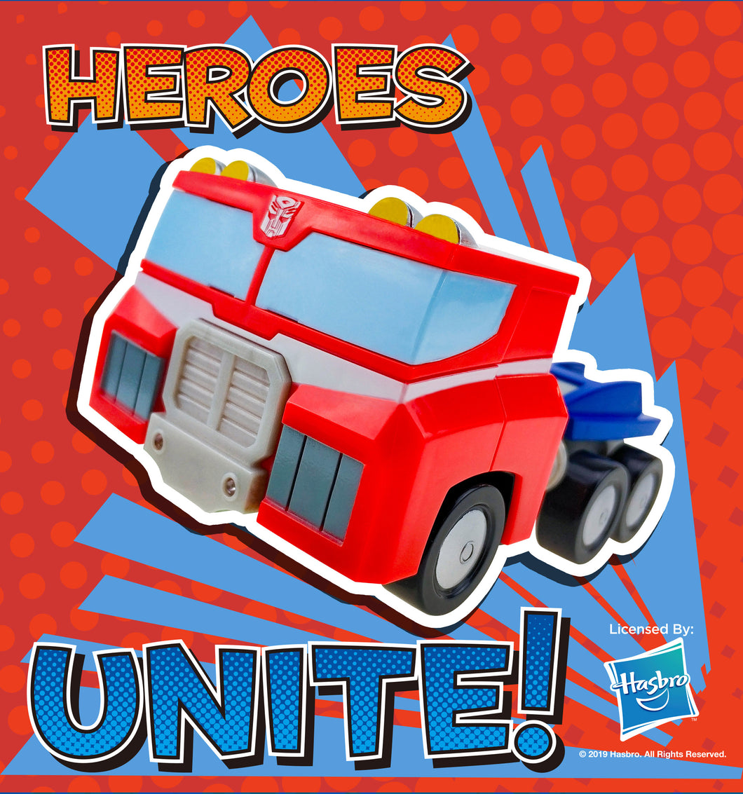 Rescue Bots - 12CM Optimus Prime Friction Car