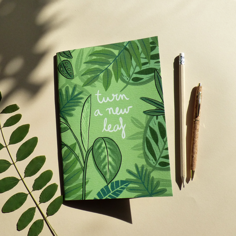 Notebook Turn a New Leaf