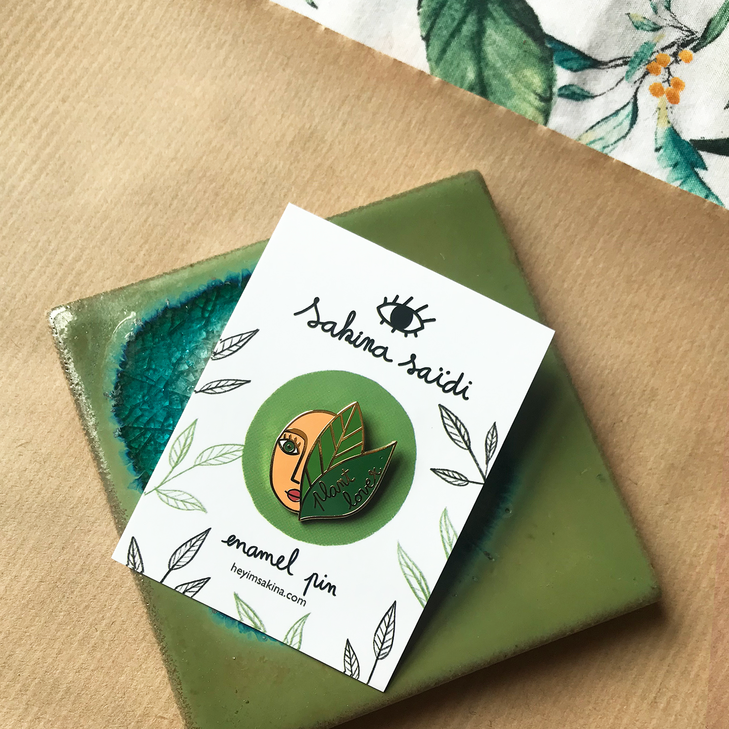 Plant Lover Enamel Pin