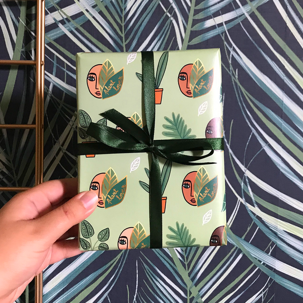 Plant Lovers Gift Wrap