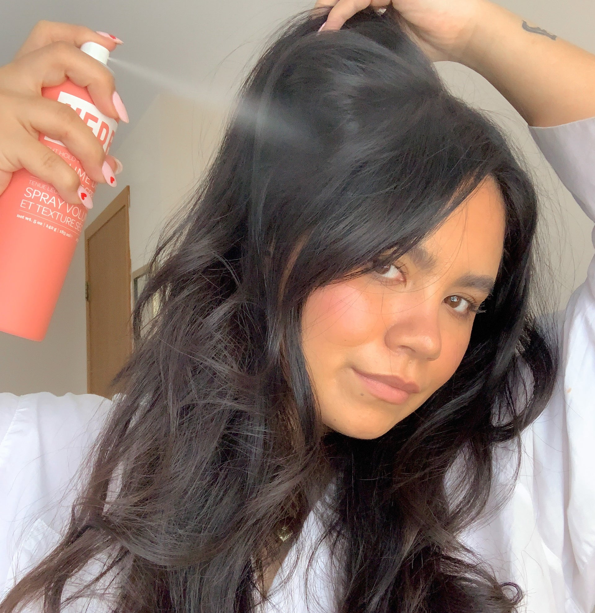 Volume Dry Texture Spray - How it works