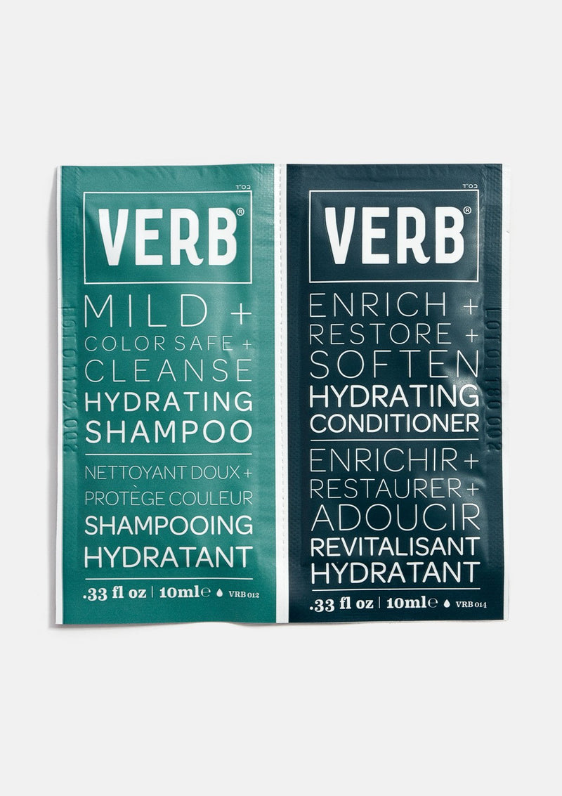 Verb Hydrating Shampoo and Conditioner Packette