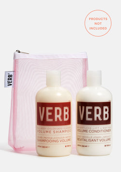 Verb Pink Mesh Pouch