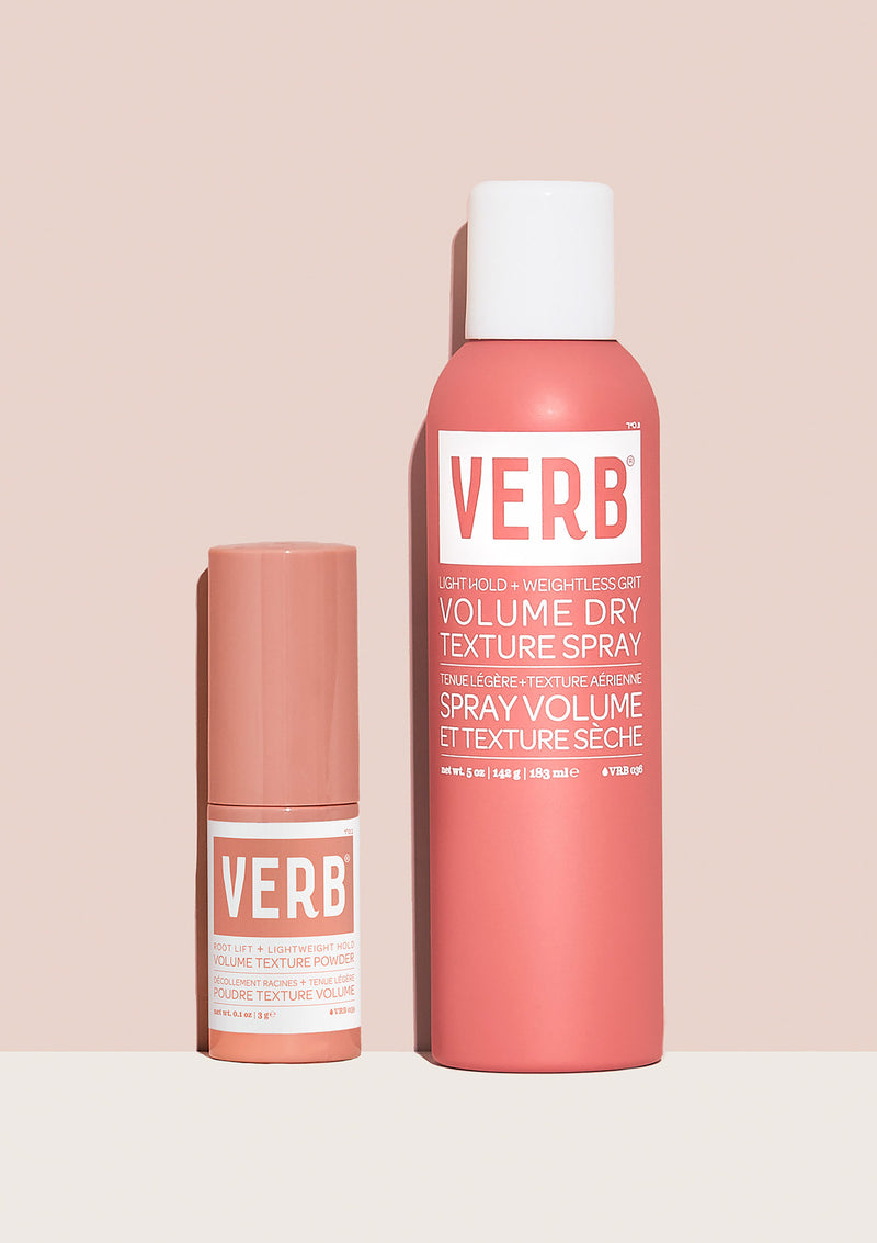 Verb Volume Texture Powder and Volume Dry Texture Spray