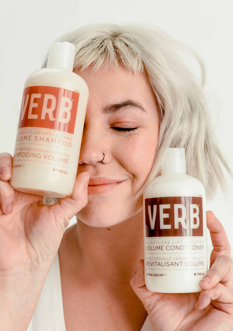 Verb Volume Conditioner and Shampoo