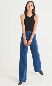 ROLLA'S Sailor Jean Long Brooke Blue Organic