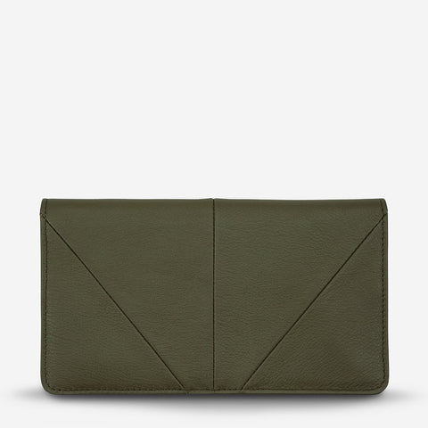 Status Anxiety Triple Threat Wallet Khaki