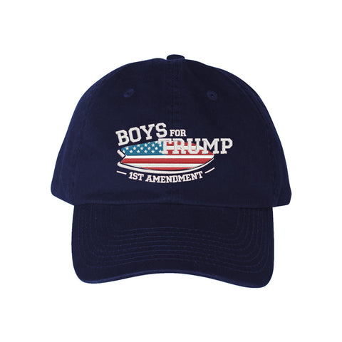 Boys for Trump Navy Hat