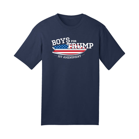 Boys for Trump Navy T-Shirt