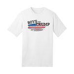 Boys for Trump White T-Shirt