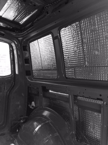 VW Van Sound Deadening