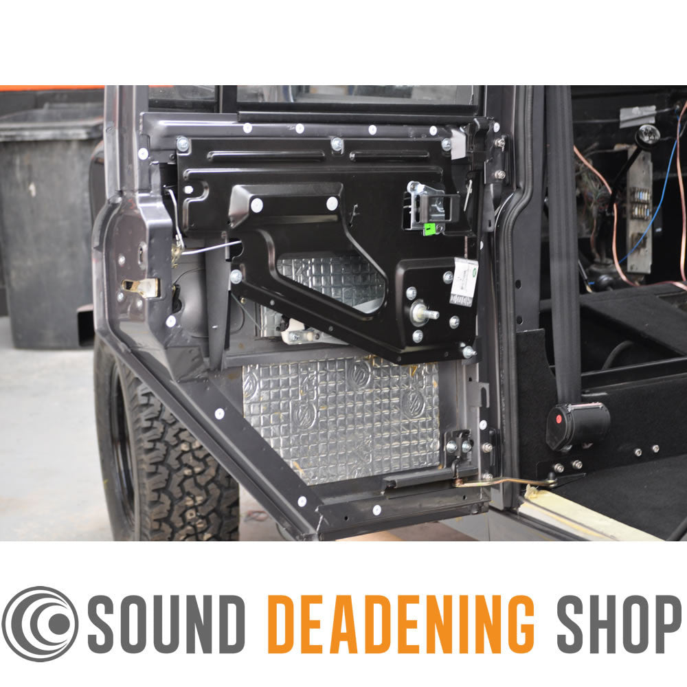 Landrover 110 Lwb Vibrodamping Sound Proofing Kit Bundle