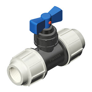 Plasson Mechanical Compression Fittings - Plastic Stoptap