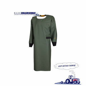 Guy Cotten Dairy Gown/Apron - PVC Coated 420 Fabric - Complete Protection