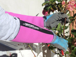 NZ Drycuffs Pink Keep Forearms Warm Dry and Protected - Fishing Farming Building