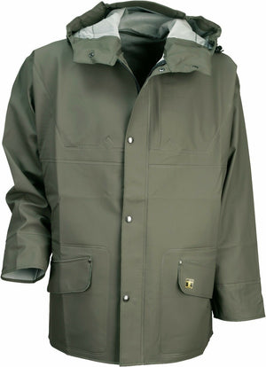 Guy Cotten Isoder Glentex Jacket - Fishing Agricultural Heavy Duty - Olive Green
