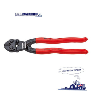 Strainrite Knipex Cutting Pliers STFKX00010 Scalloped Jaw Fence Wire Cutters