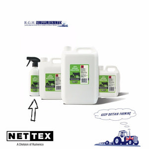 Net-Tex Iodine BP 10% Solution For Calving & Lambing - 500ml Spray Head Bottle