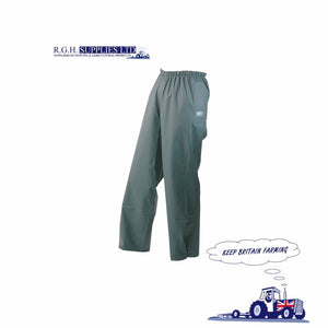 Seal Flex Over Trousers Olive Green 100% Waterproof - Breathable - 4 Sizes