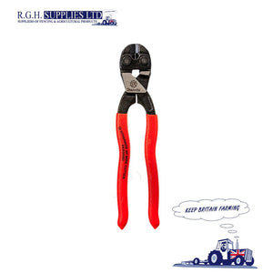 Strainrite HT Wire Cutting Pliers Scalloped Jaw Fence Cutters - Barbed or Plain