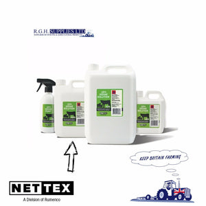 Net-Tex Iodine Plus BP 10% Solution For Calving & Lambing - 2.5 Litre Bottle.