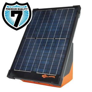 Gallagher Solar S200 Electric Fence Energizer - Portable Unit Battery Included