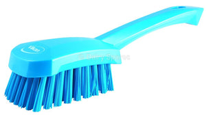 Blue Churn Brush