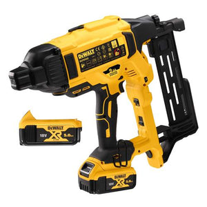 Dewalt DCFS950P2-GB 18V XR Brushless Fencing Stapler With 2 x 5AH Batteries
