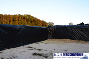 Sotrafa Ecofilm Black Silage Sheet Cover 100-200micron Various Sizes LDPE Film