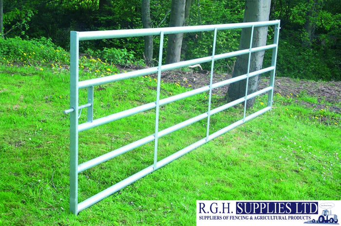 Heavy Duty Cattle Yard 5 Bar Metal Field Gate Strong For Yard Use or Security