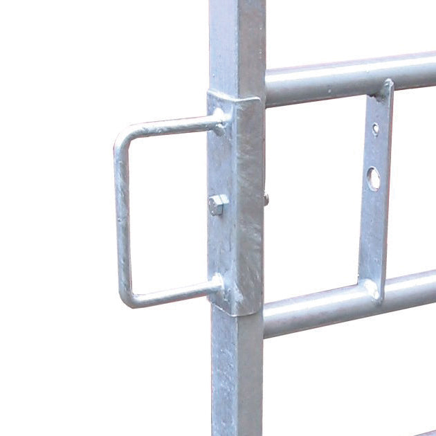 D Loop Bracket - Adaptor for Sliding Bolt Metal Gates