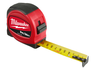 Milwaukee Slimline Tape 8m