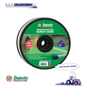 50M Strainrite Premium Electric Bungy Cord For Gateways