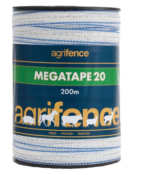 Megatape 20 Reinforced Tape 20mm x 200m