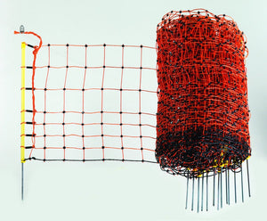 Rabbit Net 50cm x 50m - Orange