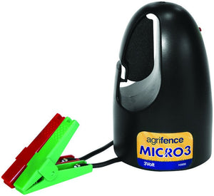 Micro 3 Electric Fence  Energiser 3v Battery Powered