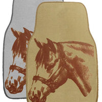 "1532 26"" X 17"" Equine floor mats for car or truck. Sold in pairs."