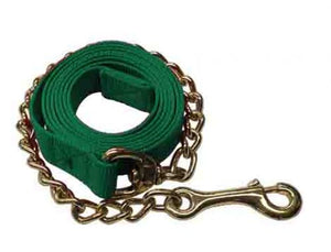 "3148X   6ft Flat nylon stud lead with 18"" chain"