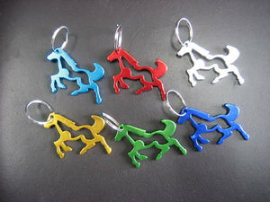Running Horse Key Chain