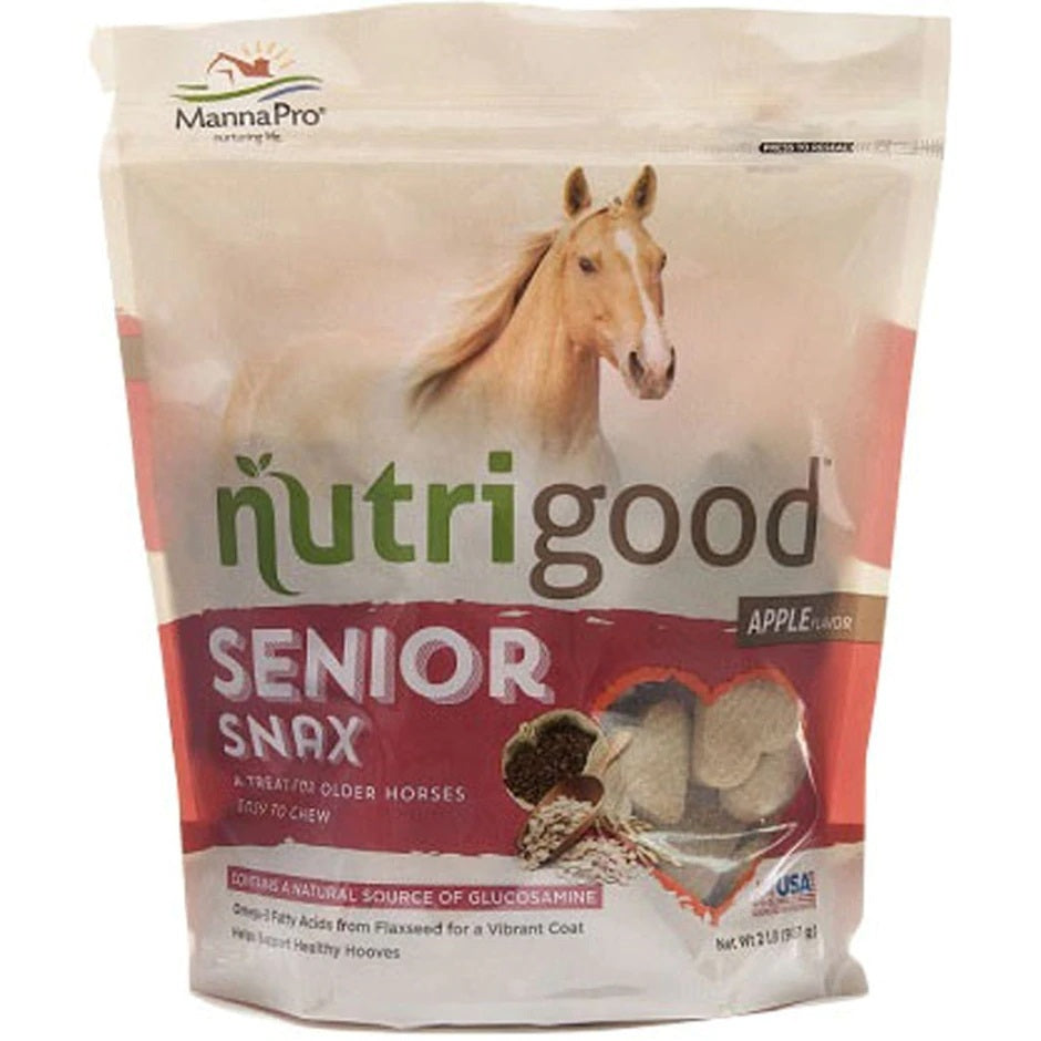 667751 SENIOR SNAX HORSE TREATS - Apple