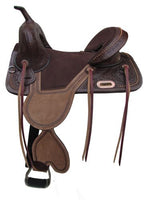 "683416 16""  Argentina Cow Leather Treeless Saddle"